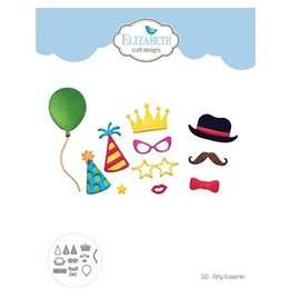 Elizabeth Craft Designs Party Accessories - Die Set