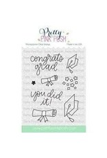 Pretty Pink Posh Congrats Grad - Die Set