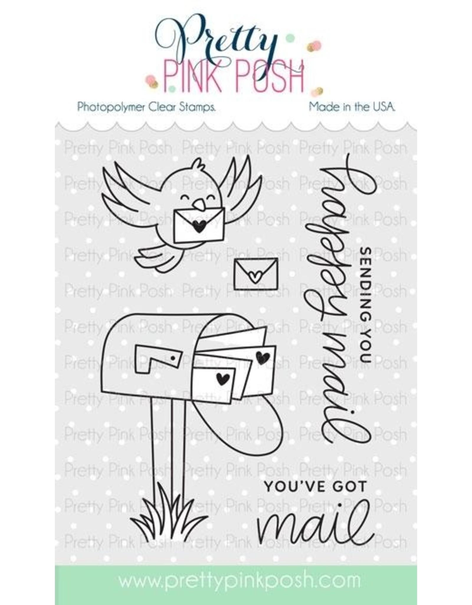 Pretty Pink Posh Happy Mail - Die Set