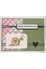 Mini Strips (Valentine) - Cling Stamp Set