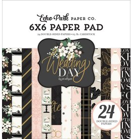 Echo Park Wedding Day 6x6 Paper Pad