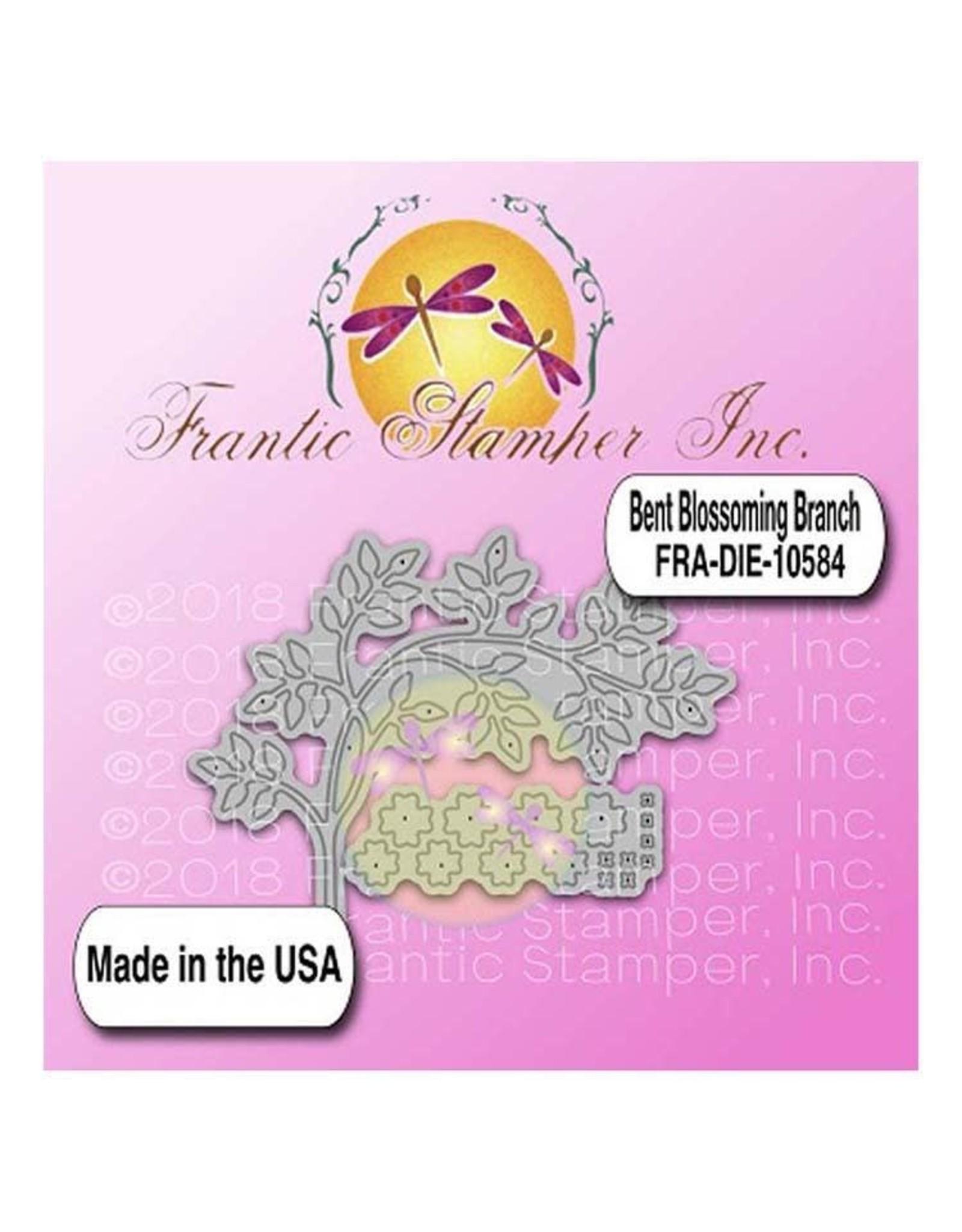 Frantic Stamper Inc Bent Blossoming Branch - Dies