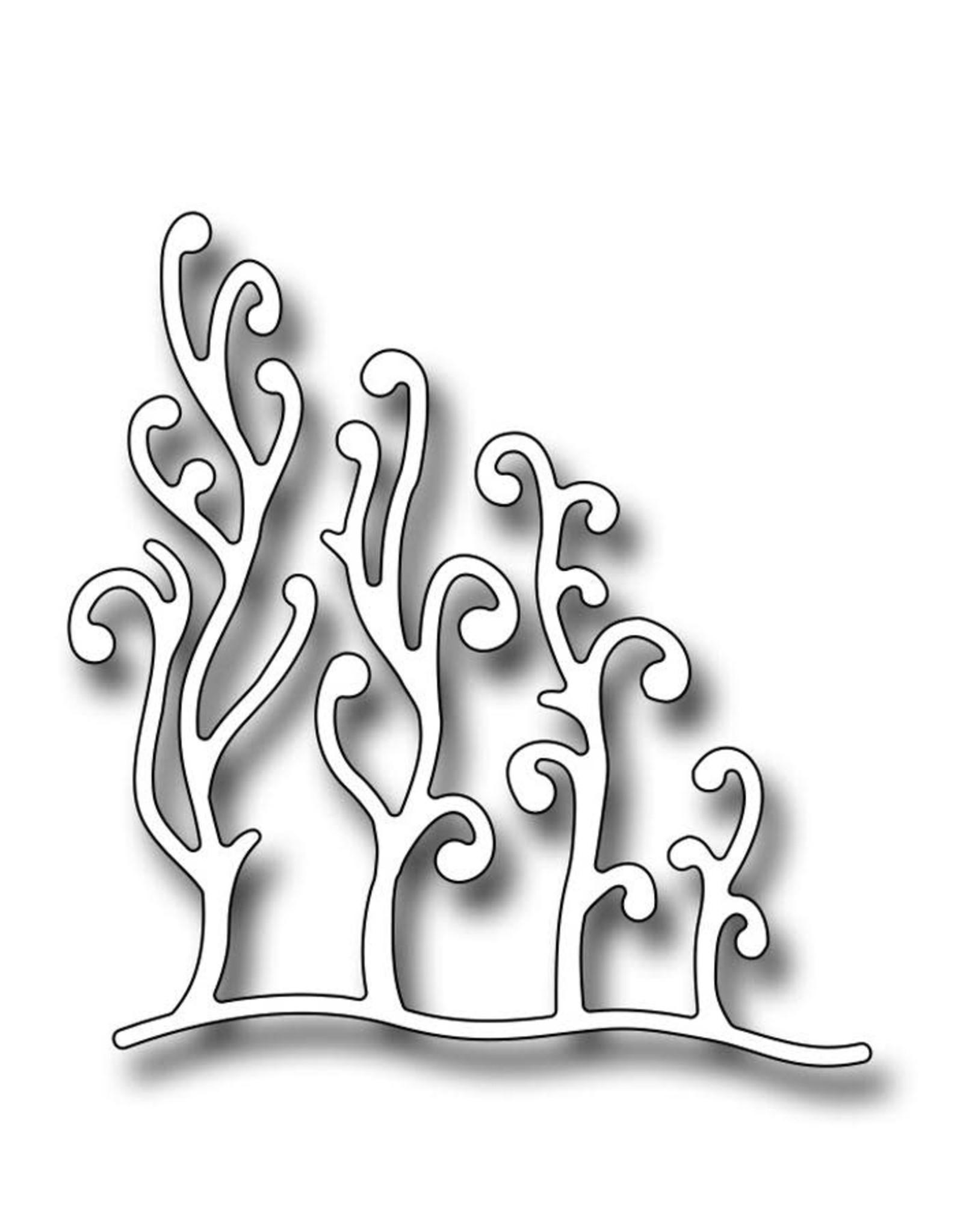 Frantic Stamper Inc Seaweed Corner - Die