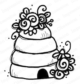 Impression Obsession Bee Hive - Cling Stamp