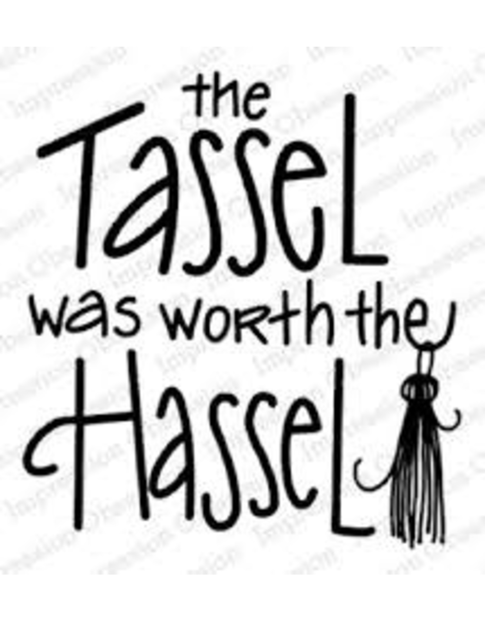 Impression Obsession Tassel Hassel - Cling Stamp