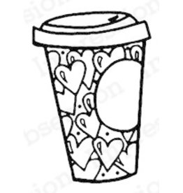 Impression Obsession Coffee Love - Cling Stamp