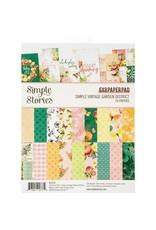 Simple Stories Simple Vintage Garden District - 6x8 Paper Pad