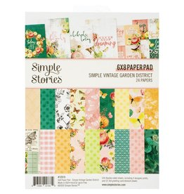 Simple Stories Simple Vintage Garden District - 6x8 Paper Pad