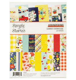 Simple Stories Summer Farmhouse 6x8 Paper Pad