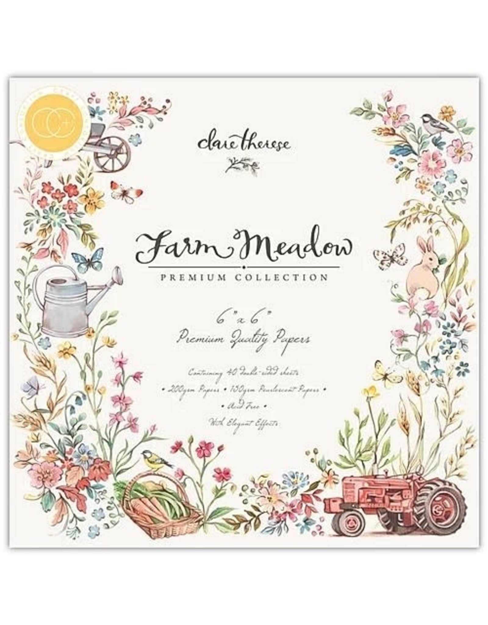 Craft Consortium Farm Meadow Rooster - Charms