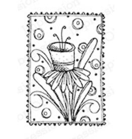 Impression Obsession Daffodillie - Cling Stamp