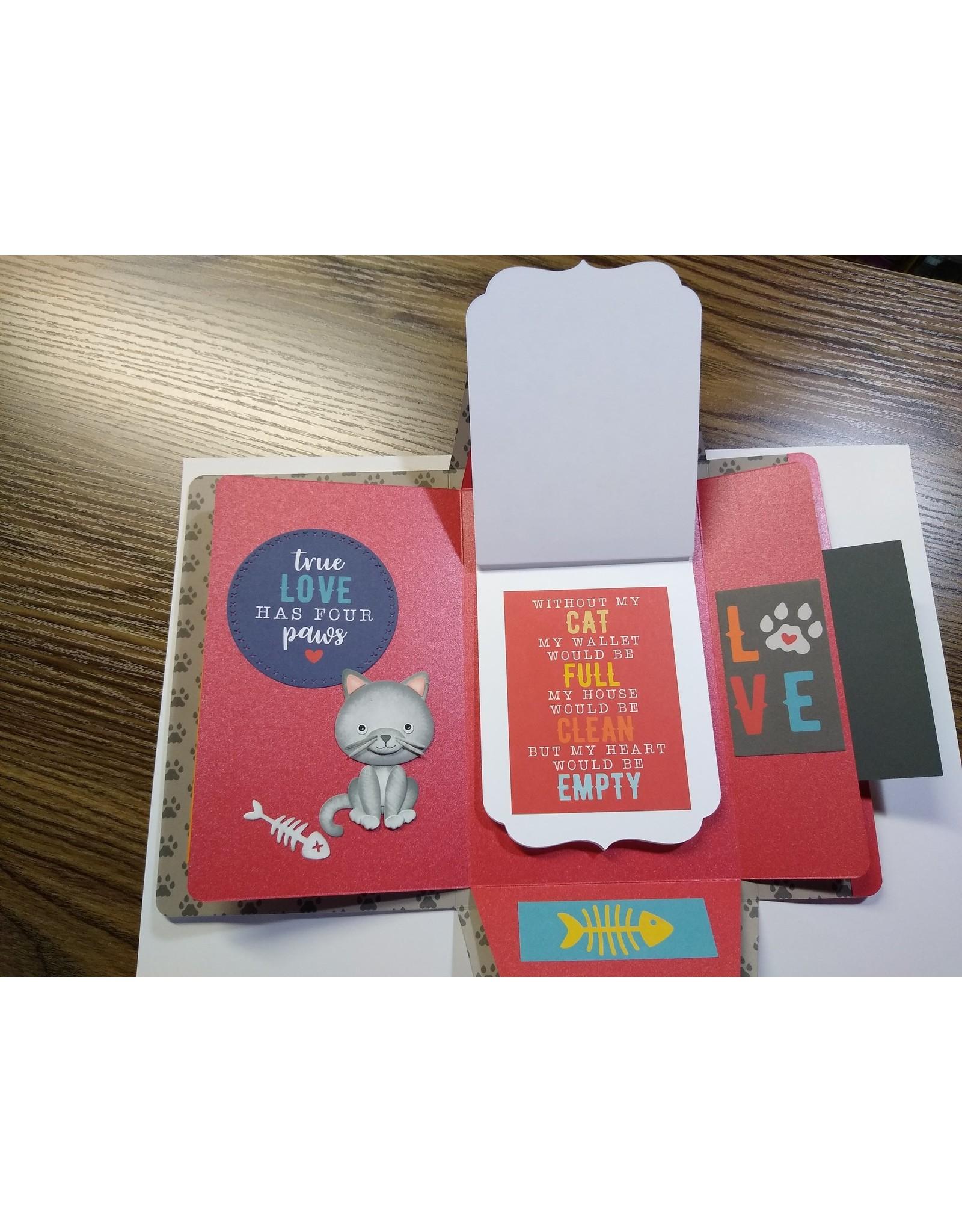 Elizabeth Craft Designs Cat - Die Set