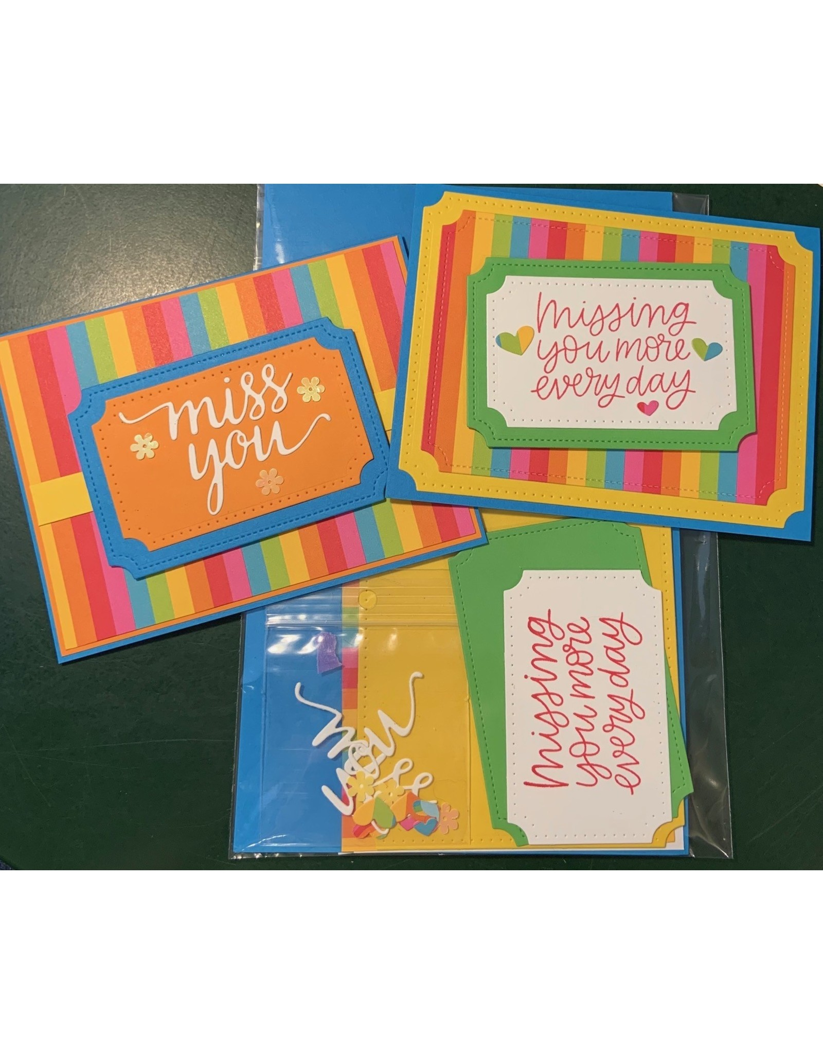 Miss You Card Kit