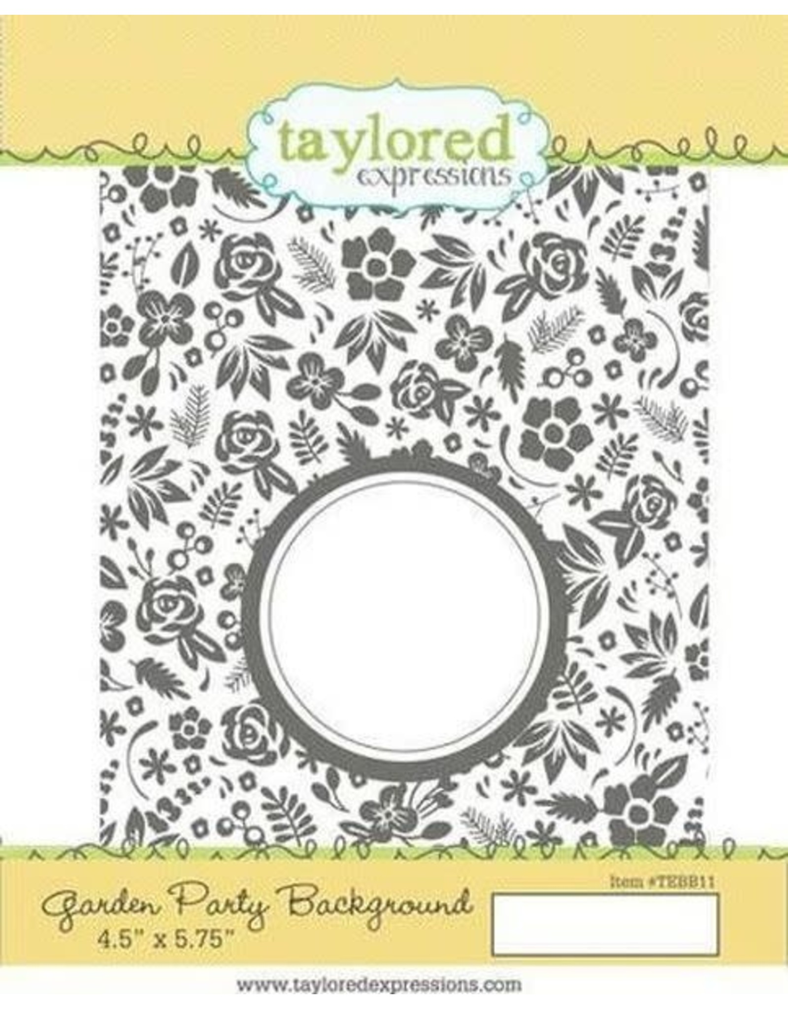 Garden Party Background - Cling Stamp
