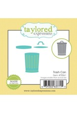 Taylored Expressions Little Bits Trash Can - Die