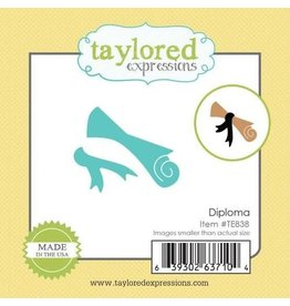Taylored Expressions Little Bits Diploma - Die