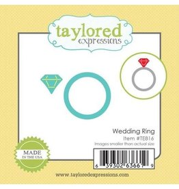 Taylored Expressions Little Bits Wedding Ring - Die