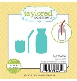 Taylored Expressions Little Bits Milk Bottle - Die