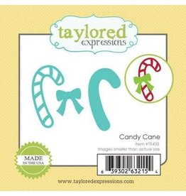 Taylored Expressions Little Bits Candy Cane - Die