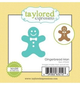 Taylored Expressions Little Bits Gingerbread Man - Die