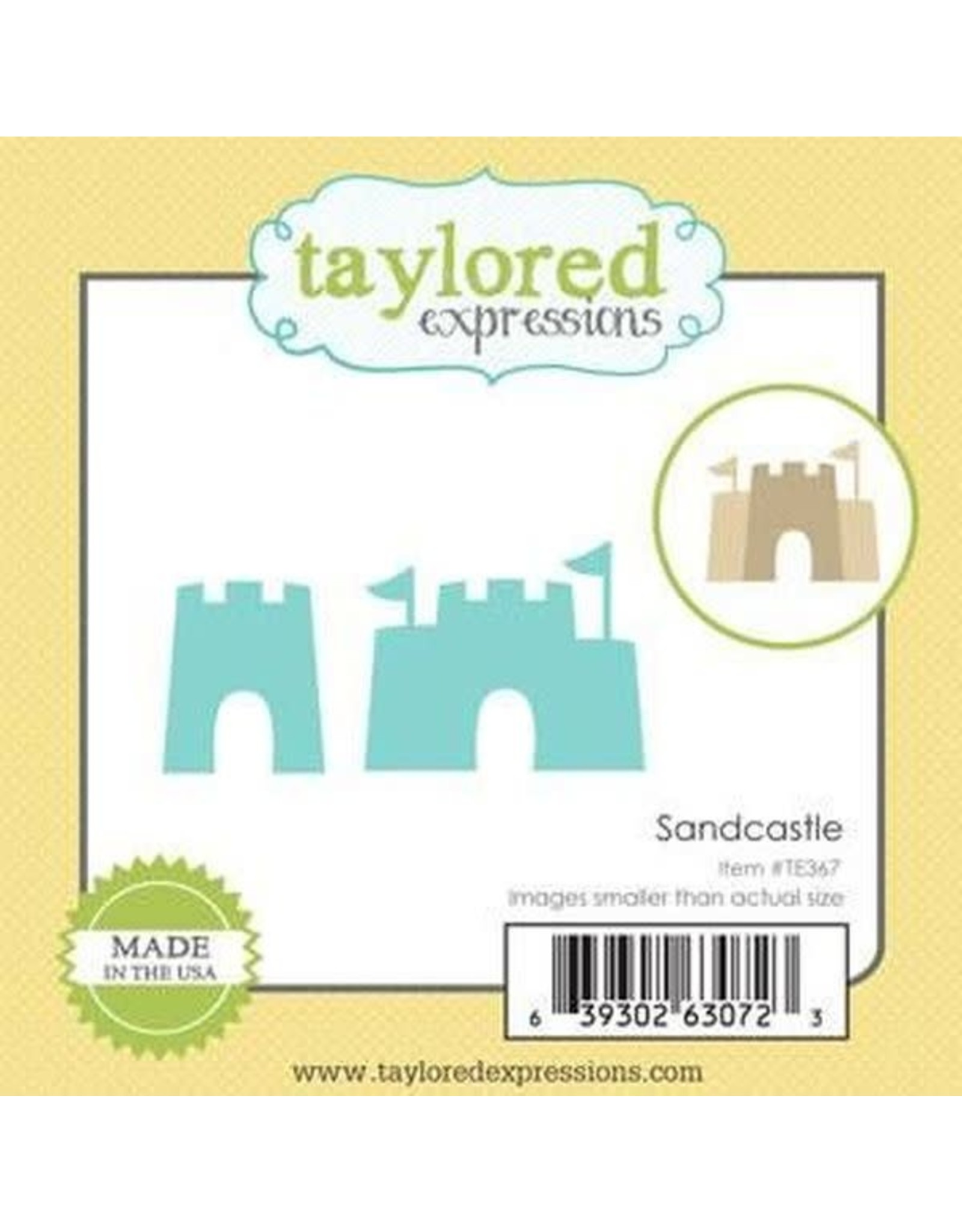 Taylored Expressions Little Bits Sandcastle - Die