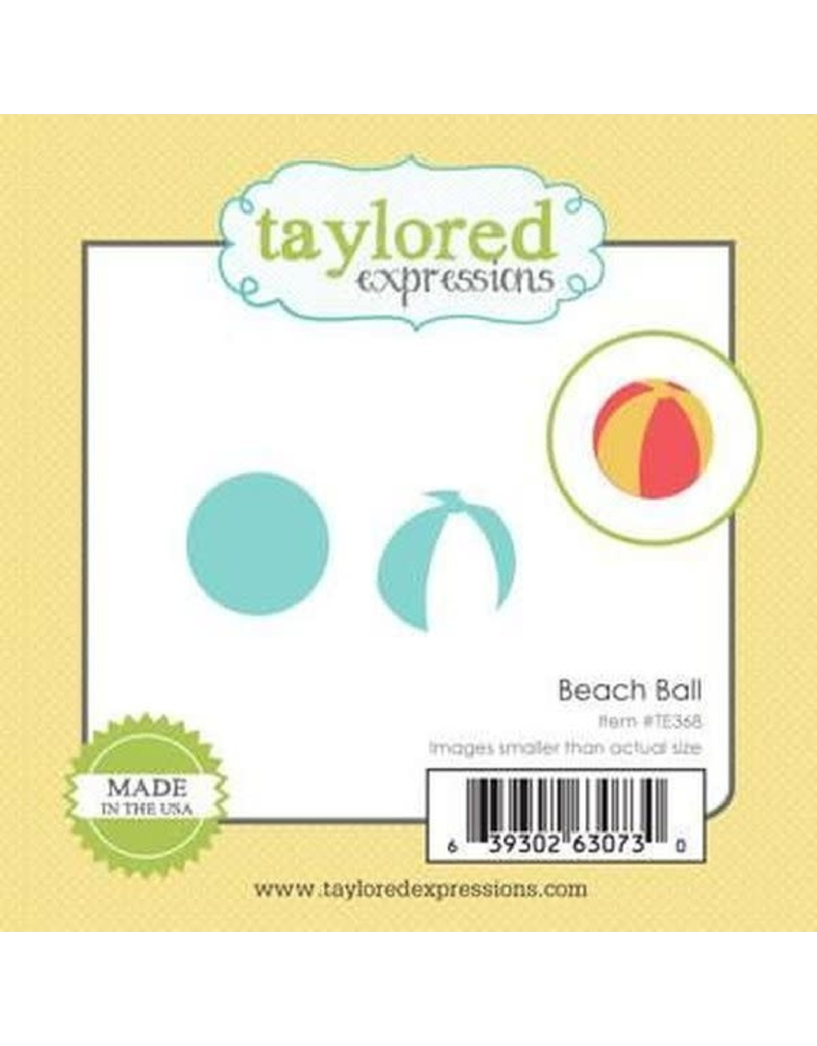 Taylored Expressions Little Bits Beach Ball - Die