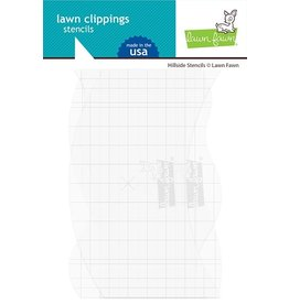 Lawn Fawn Hillside (LF) (set of 3) - Stencils