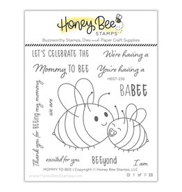 Honey Bee Stamps Mommy to Bee - Clear Stamp Set