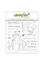 Honey Bee Stamps Safari Babies - Clear Stamp Set