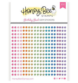 Honey Bee Stamps Gem Stickers - Birthday Bash
