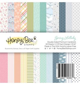 Honey Bee Stamps Spring Lullaby - 6x6 Pad Double-Sided Premium Cardstock