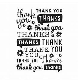 Darice, Inc. Thank You - Embossing Folder