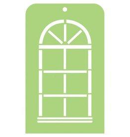Kaisercraft Arch Window - Mini Designer Template