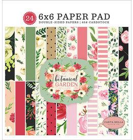 Carta Bella Paper Company, LLC Botanical Garden 6x6 Paper Pad