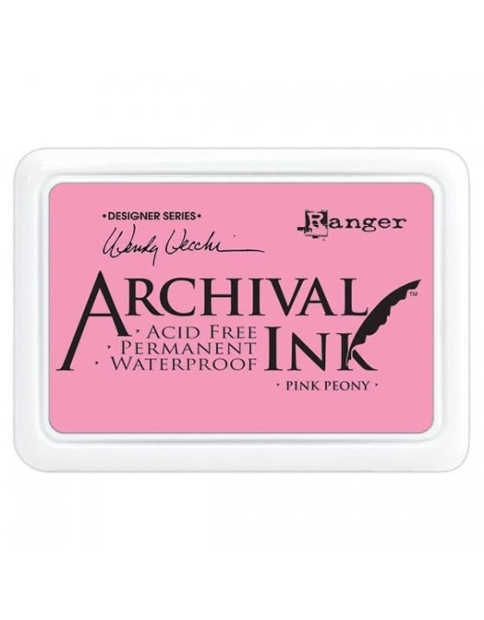 Ranger Archival Ink - Pink Peony