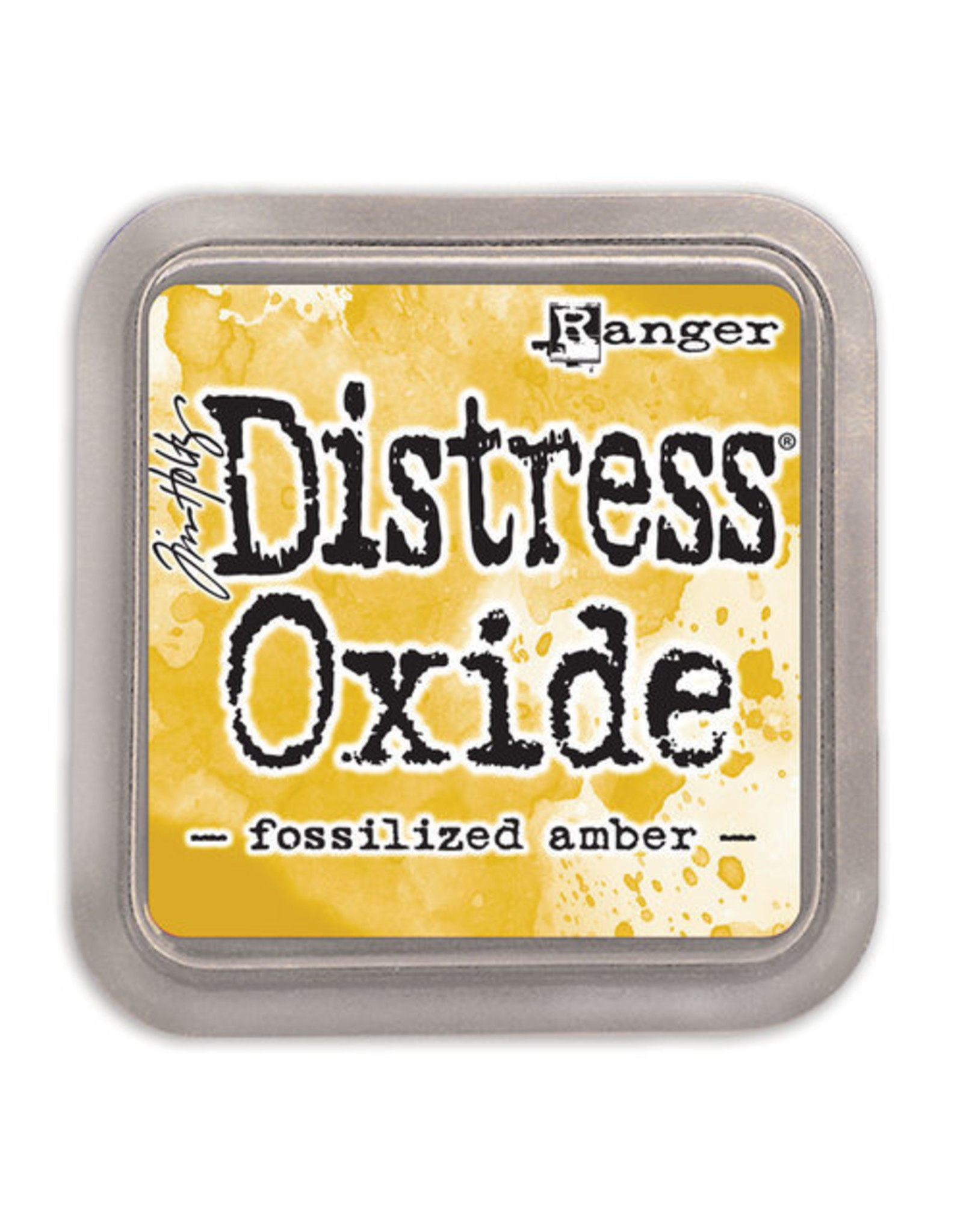 Ranger Distress Oxide Ink Pad - Fossilized Amber
