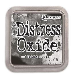 Ranger Distress Oxide Ink Pad - Black Soot