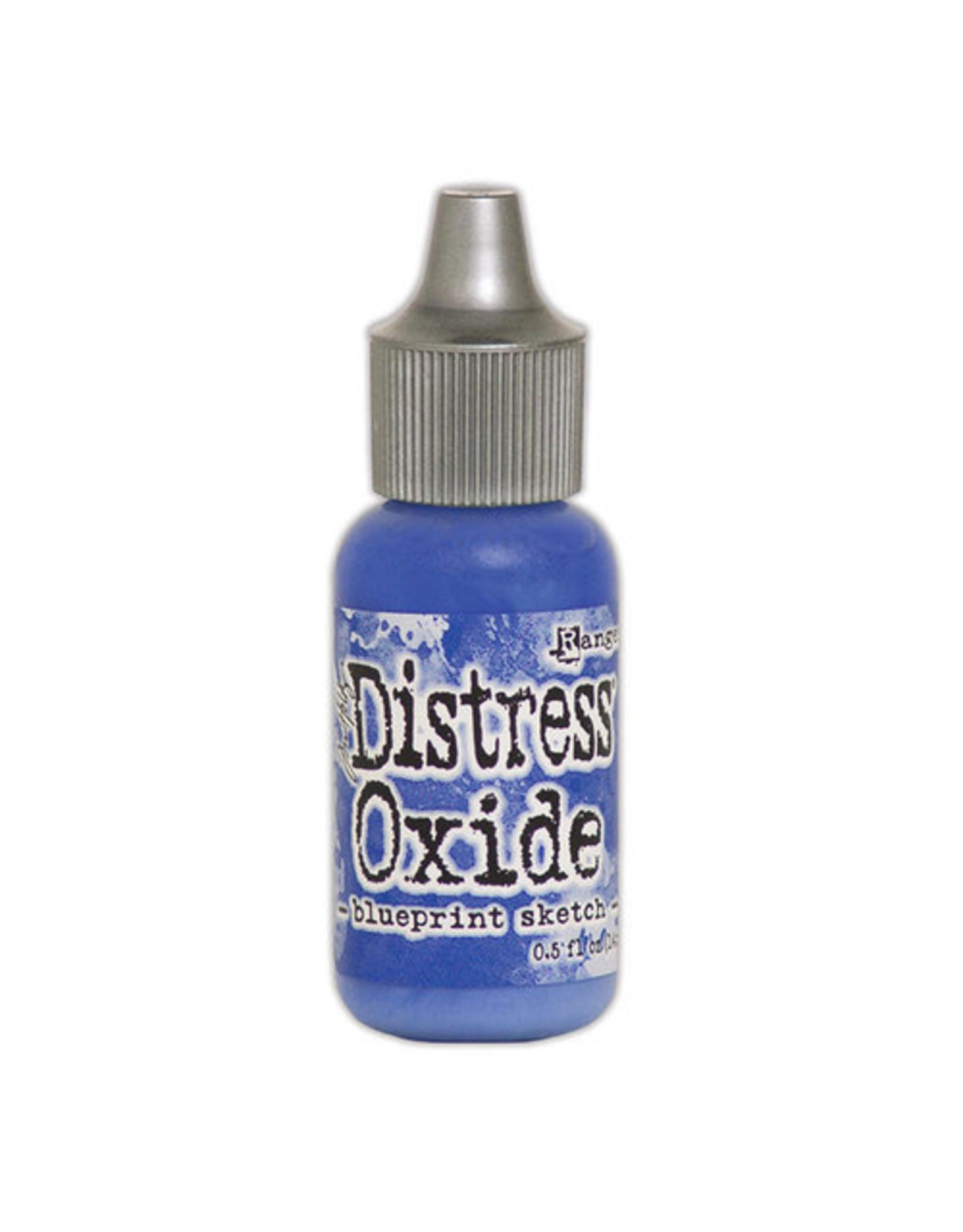 Ranger Distress Oxide Ink Reinker - Blueprint Sketch