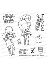Newton's Nook Pumpkin Latte Die Set