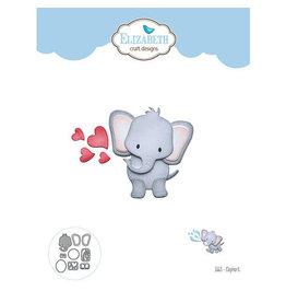 Elizabeth Craft Designs Elephant - Die Set