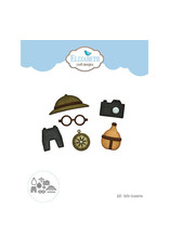 Elizabeth Craft Designs Safari Accessories - Die Set
