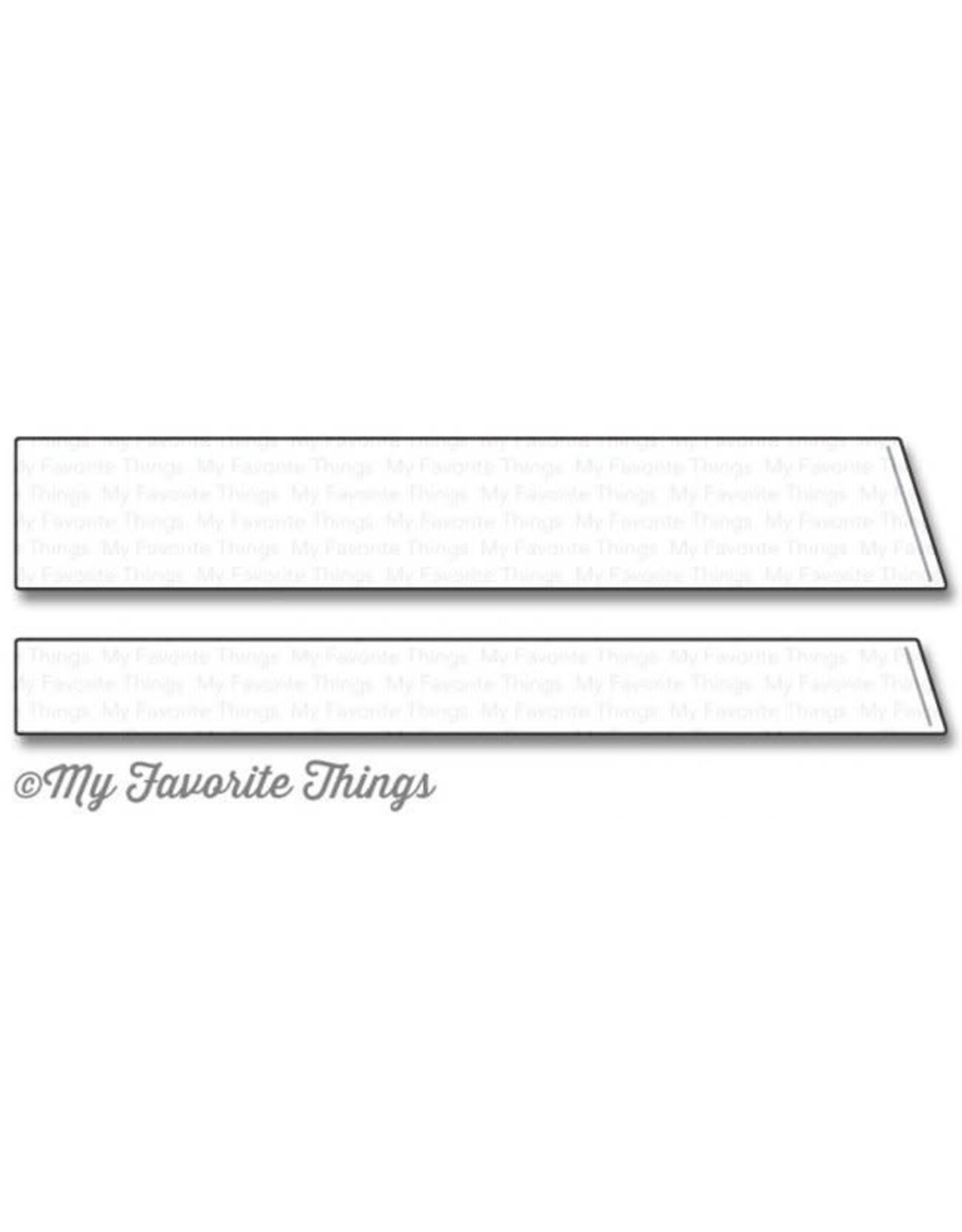 My Favorite Things Slanted Sentiment Strips - Die Set (RETIRED) (25%)