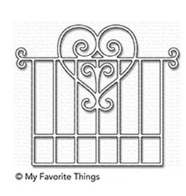 My Favorite Things Garden Gate - Die (RETIRED) (25%)