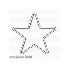 My Favorite Things Stitched Star Peek-a-Boo Window - Die (RETIRED) (25%)