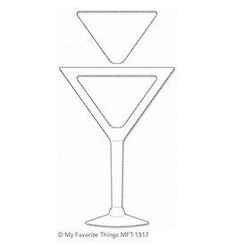 My Favorite Things Martini Shaker Window & Frame - Die (RETIRED) (25%)