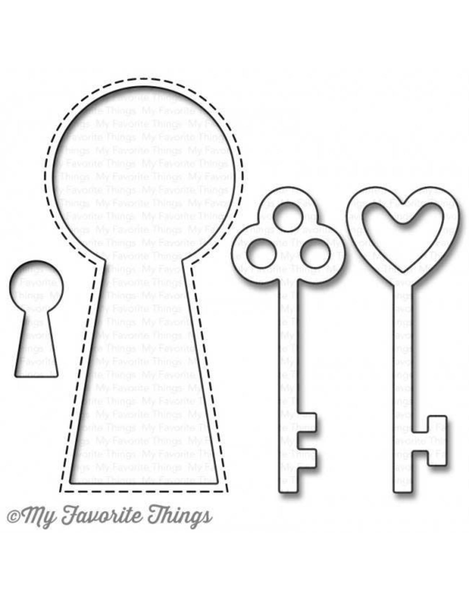 My Favorite Things Lock & Key - Die (RETIRED) (25%)