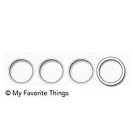 My Favorite Things Circle Trio Shaker Window & Frame - Die (RETIRED) (25%)
