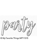 My Favorite Things Party - Die (RETIRED) (25%)