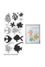 My Favorite Things Adorned Ocean Friends - Clear Stamp Set (RETIRED) (25%)