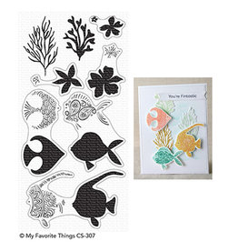 My Favorite Things Adorned Ocean Friends - Clear Stamp Set (RETIRED) (25%)